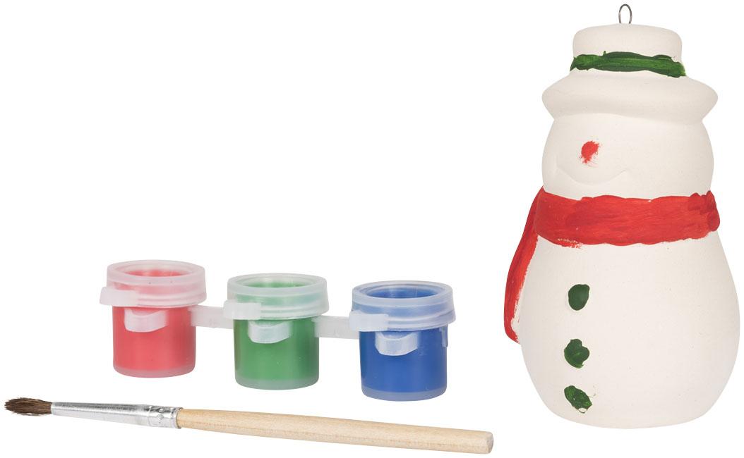 Pintar um boneco de neve