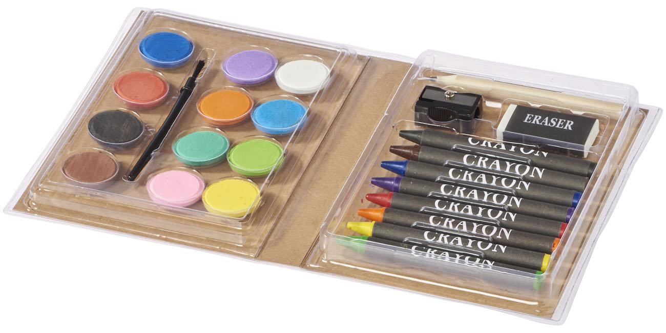 Set para colorear Pizaco