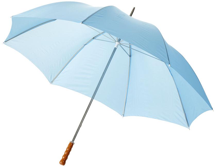 """Guarda-chuva de golfe com pega de madeira de 30"""" Karl"""