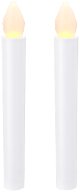 Conjunto de 2 velas LED Floyd