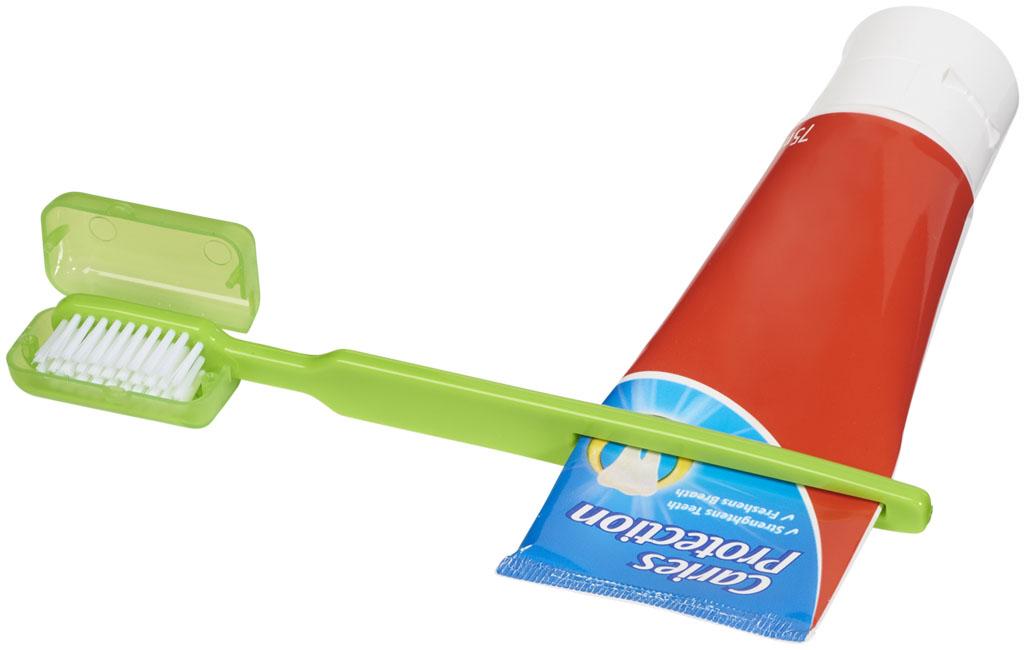 Escova de dentes com expremedor Dana