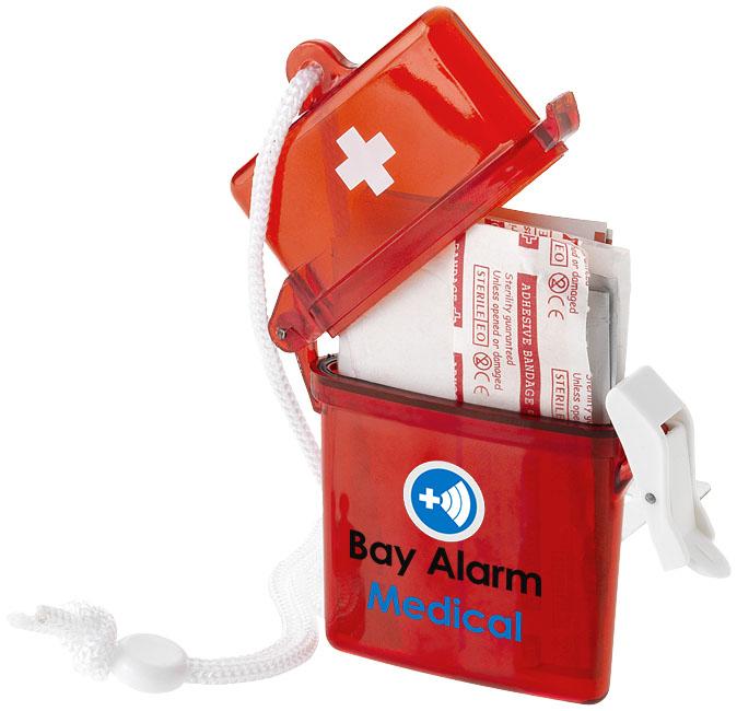 Kit de primeros auxilios de 10 piezas Haste