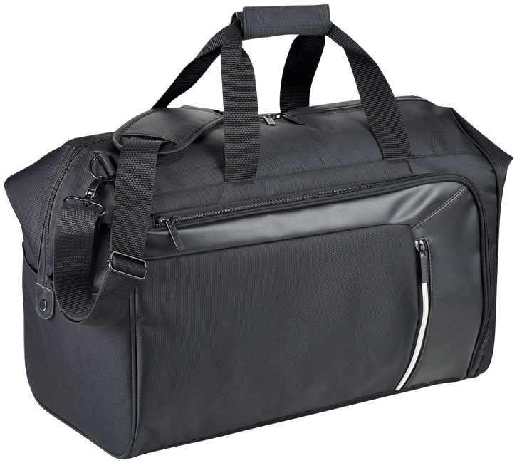 Vault 19 travel duffel bag with RFID secure pocket
