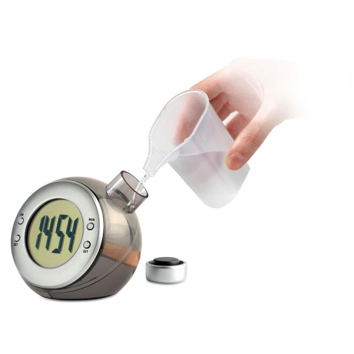 Relógio de secretária LCD água DROPPY