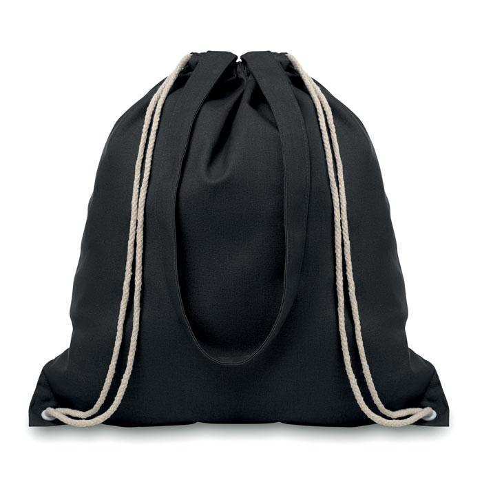 Drawstring And Handles Bag - Moira