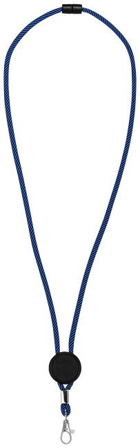 Hagen dual-tone lanyard with adjustable disc