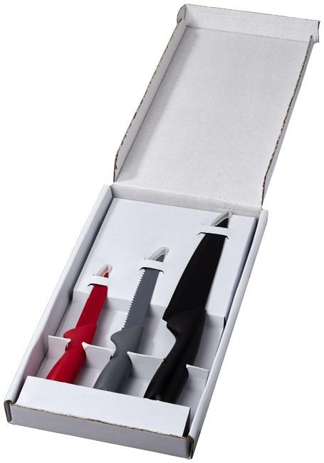 Conjunto de 3 facas de cozinha Main
