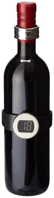 Barlot 2-piece wine thermometer and ring set
