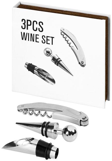 Conjunto de vinho de 3 peças Nantes