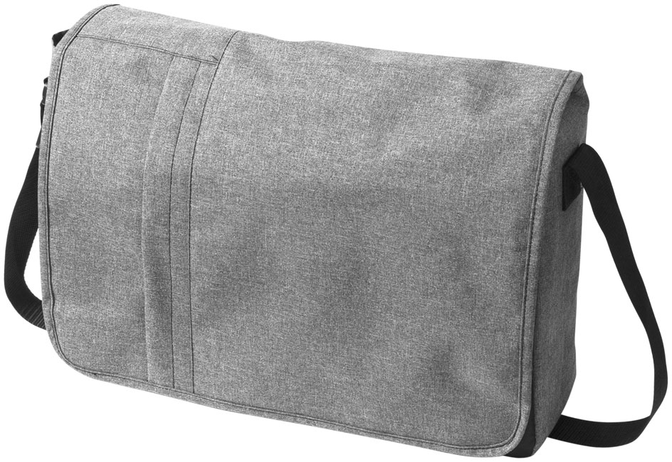 Fromm heathered 15.6 laptop messenger bag