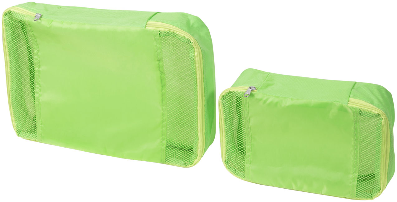 Tray non-woven interior luggage packing cubes