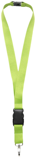 Yogi lanyard detachable buckle, break-away closure