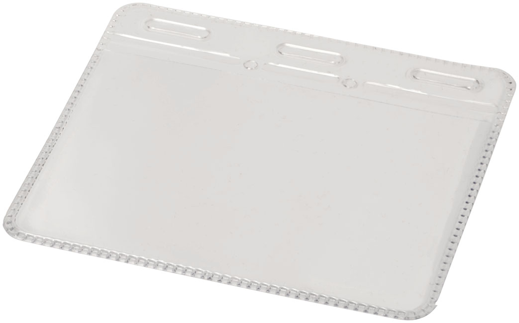 Bolsa de identificação de plástico transparente Arell