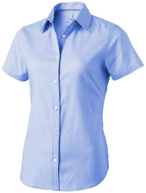 Camisa malha oxford manga curta de mulher Manitoba