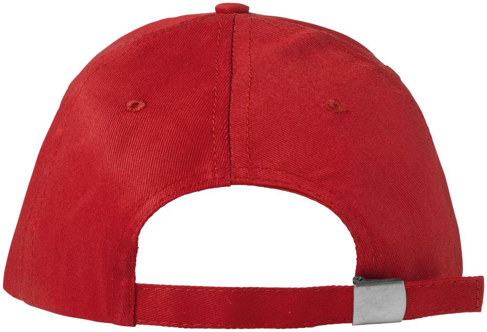 Gorra de algodón de 5 paneles con cierre de hebilla Brunswick