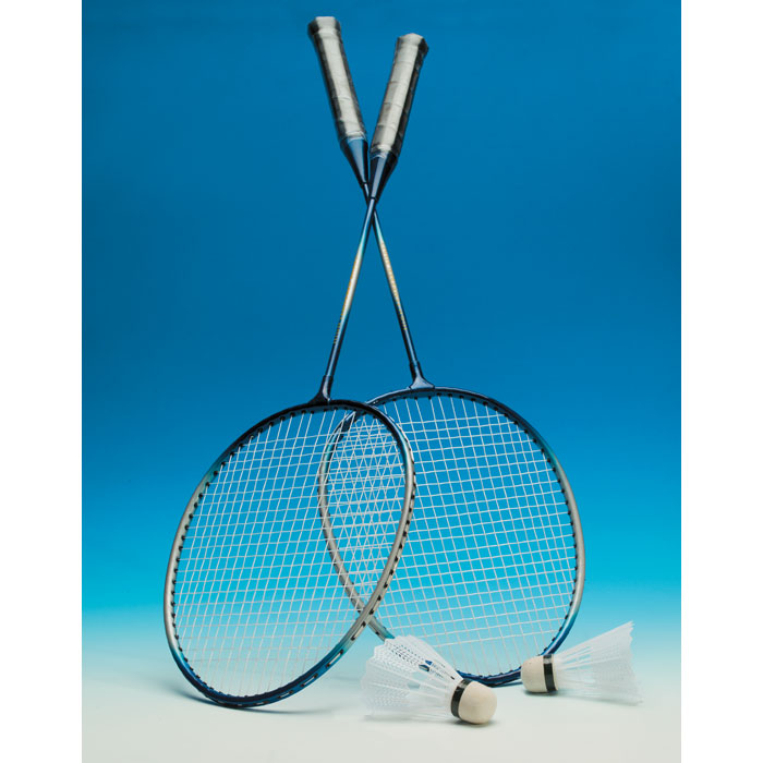 2 player badminton set - MADELS
