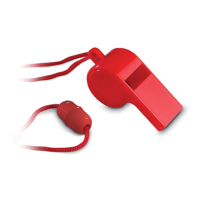 Whistle with security necklace - REFEREE