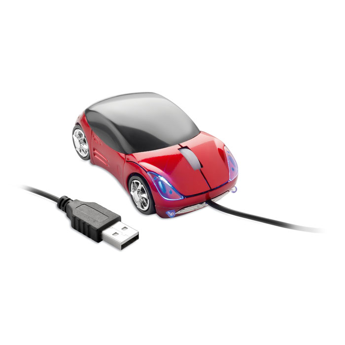Mouse in car shape - MINIA