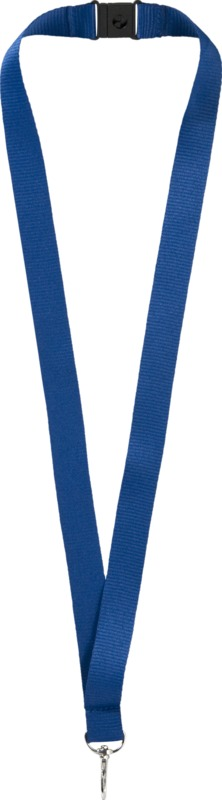 Lago lanyard with break-away closure