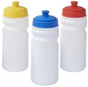 Easy-squeezy 500 ml white sport bottle