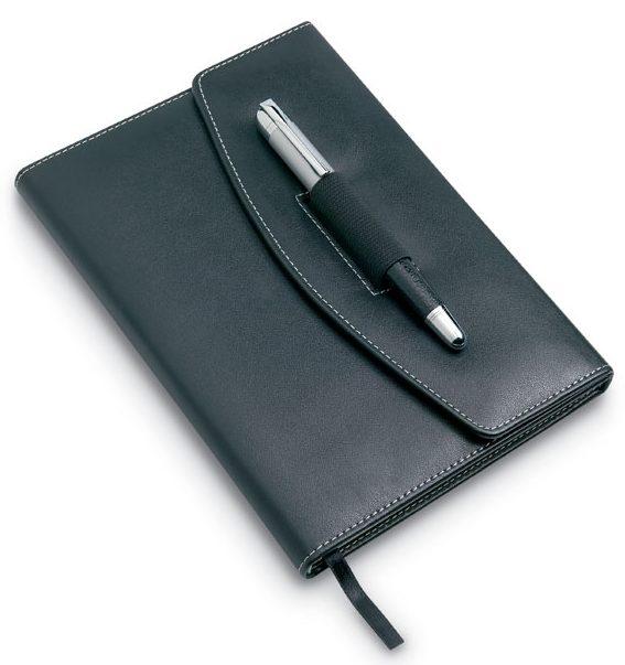 Porta documentos com esferográfica - NOVA
