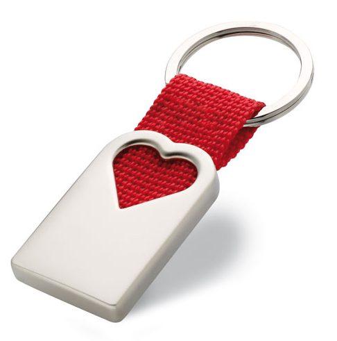 Heart Metal Key Ring - Bonheur