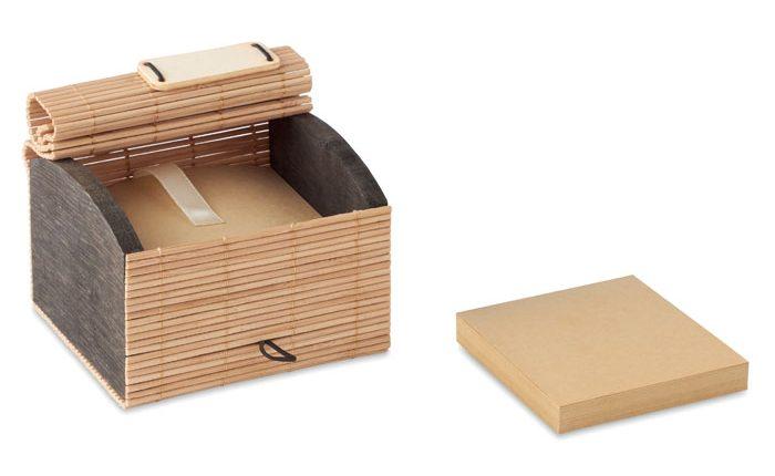 Bamboo Desk Notepad 500 Sheets - Cortina Block