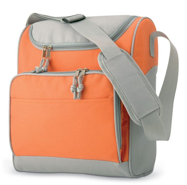 Cooler Bag With Front Pocket - Zipper