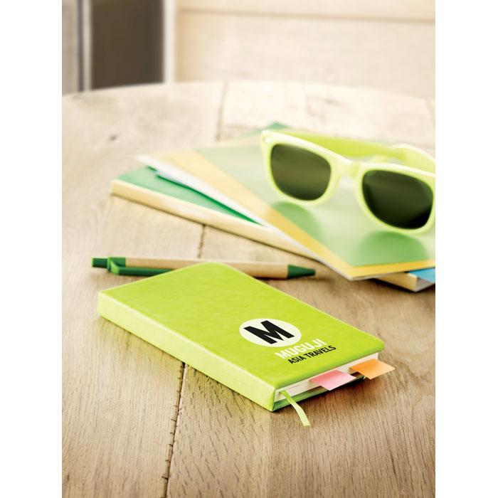 A6 cuaderno a rayas - NOTELUX