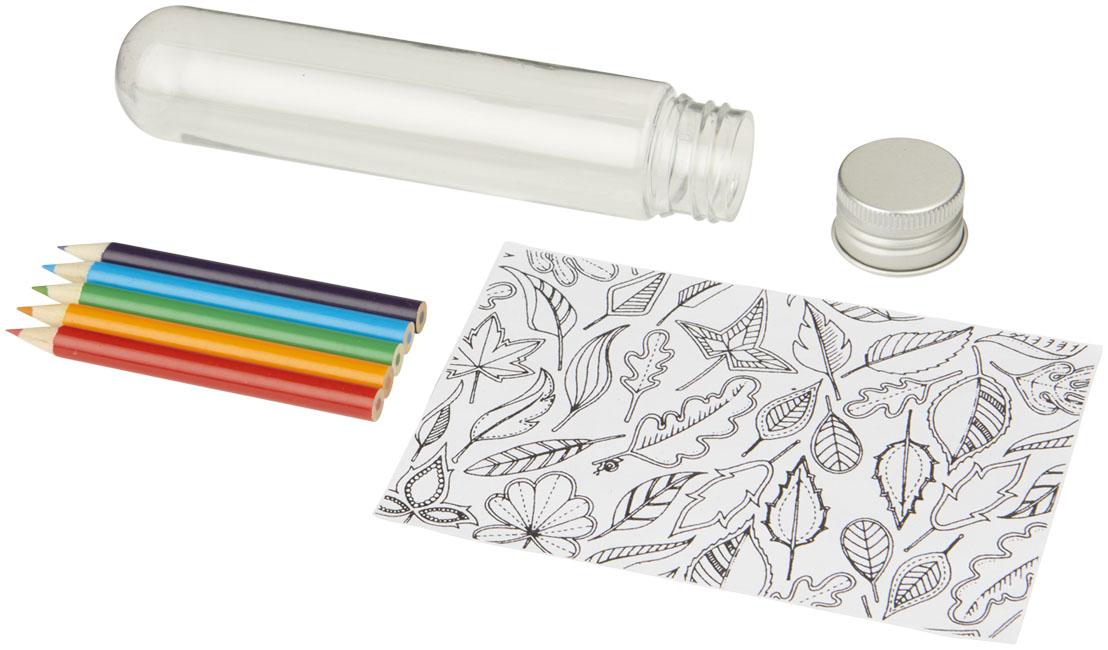 Mini set de colorear en tubo Cami