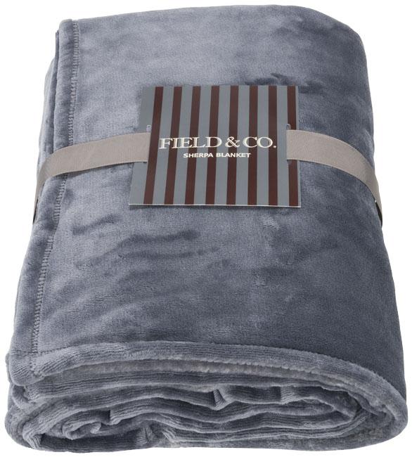 Mollis oversized ultra plush plaid blanket
