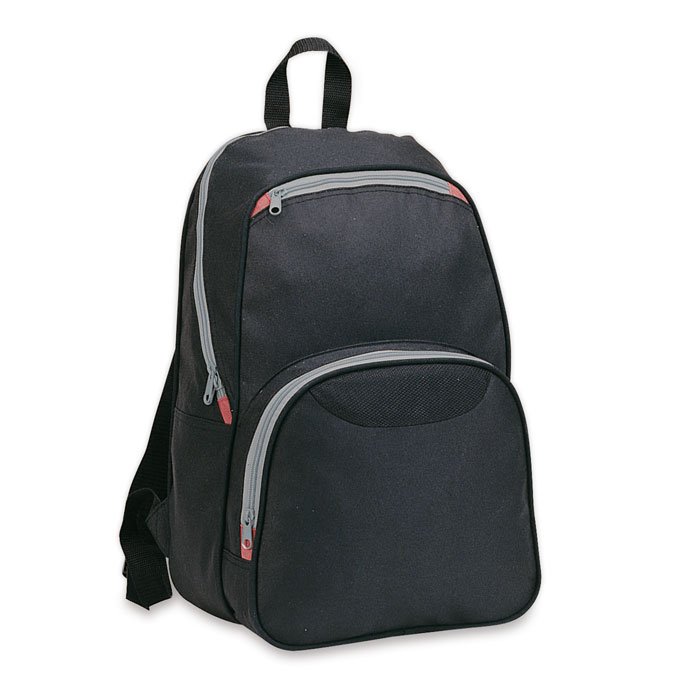 Backpack With Outside Pockets - Ronda