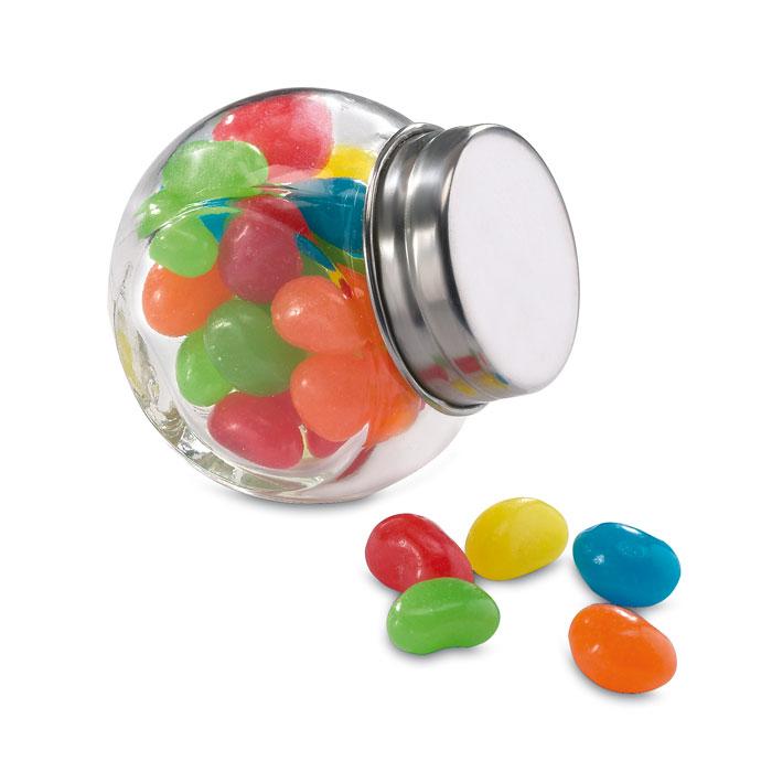 Bote de Cristal Con Caramelos - Beandy