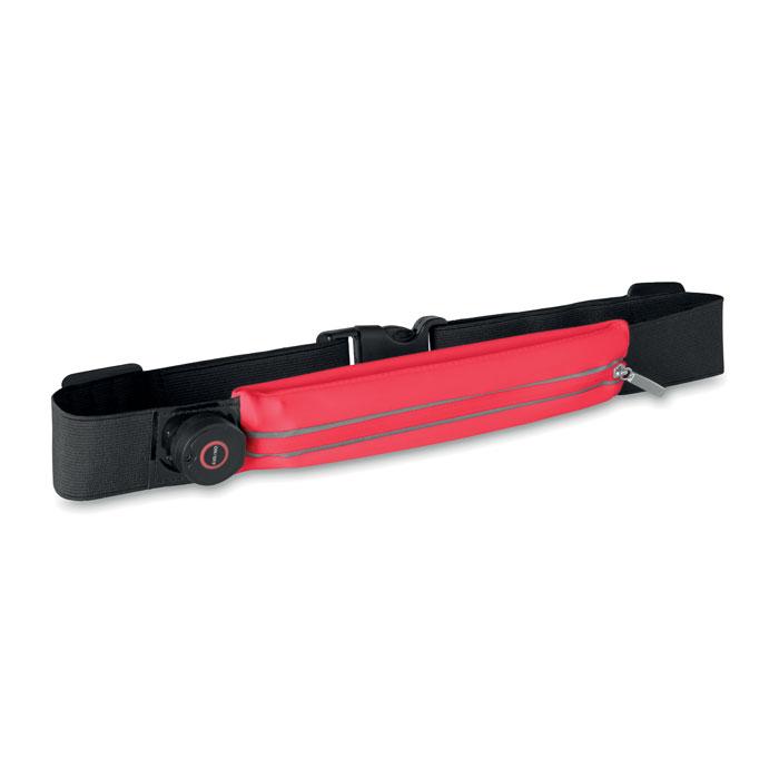 Running waist belt with light - IRONRUN