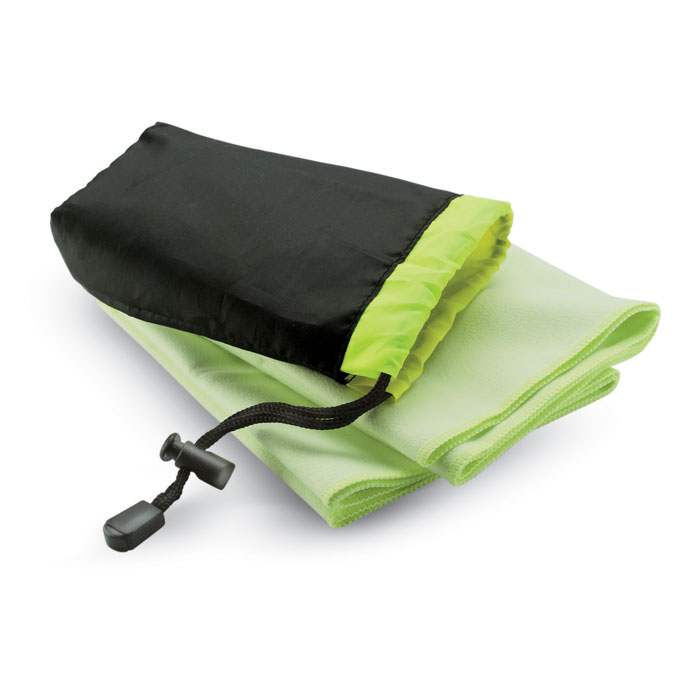 Sport towel in nylon pouch - DRYE