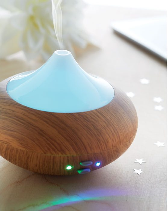 7 Colour Changing Aroma Diffuso - Aromaud