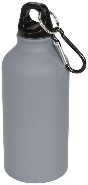 Garrafa de desporto com mosquetão e acabamento mate de 400 ml Oregon