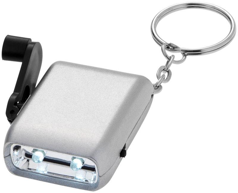 Porta-chaves lanterna de dínamo Carina