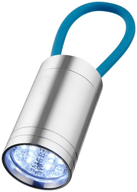 Lanterna de 6 LEDs com correia refletora Vela
