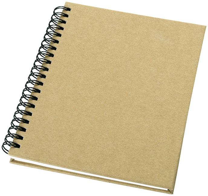 Bloco de notas A6 de papel reciclado Mendel