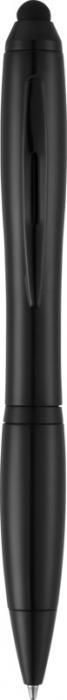 Nash stylus ballpoint pen with coloured grip