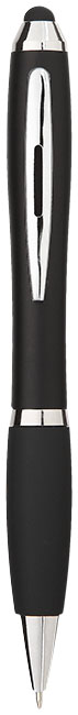 Caneta Stylus colorida com pega preta Nash