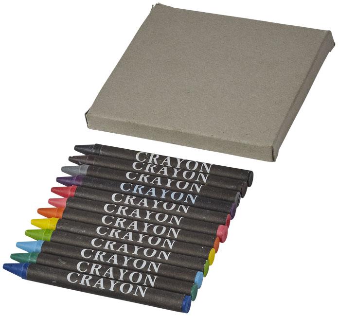 Conjunto de 12 lápis de cera