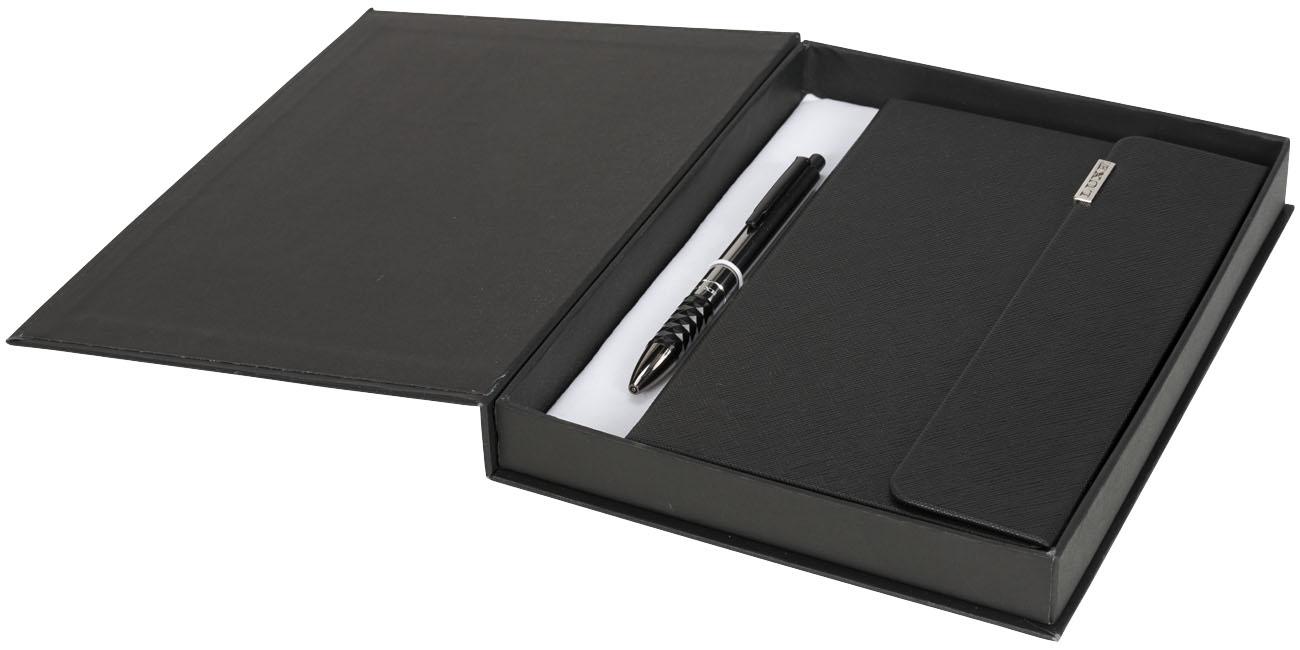 Conjunto de oferta com bloco de notas A5 e esferográfica Tactical
