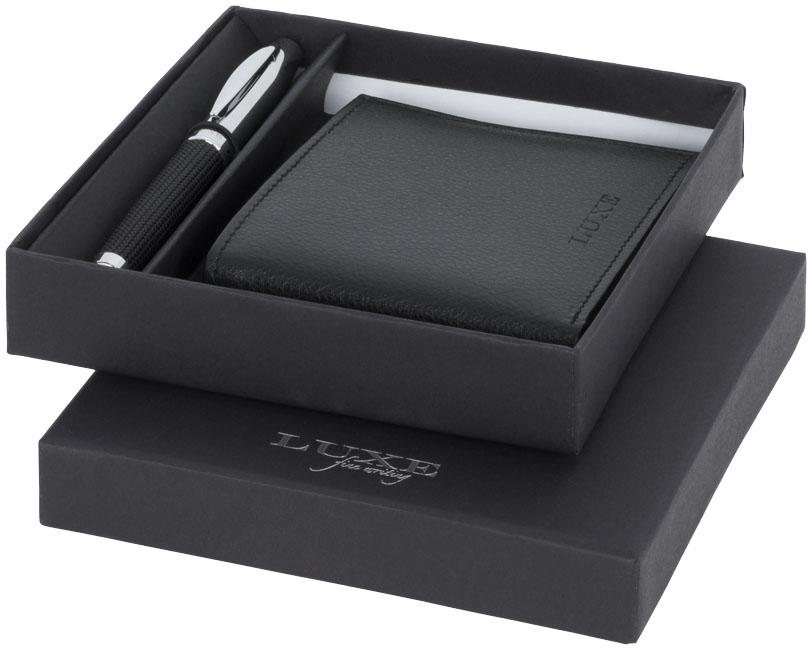 Conjunto de oferta de caneta e carteira Baritone
