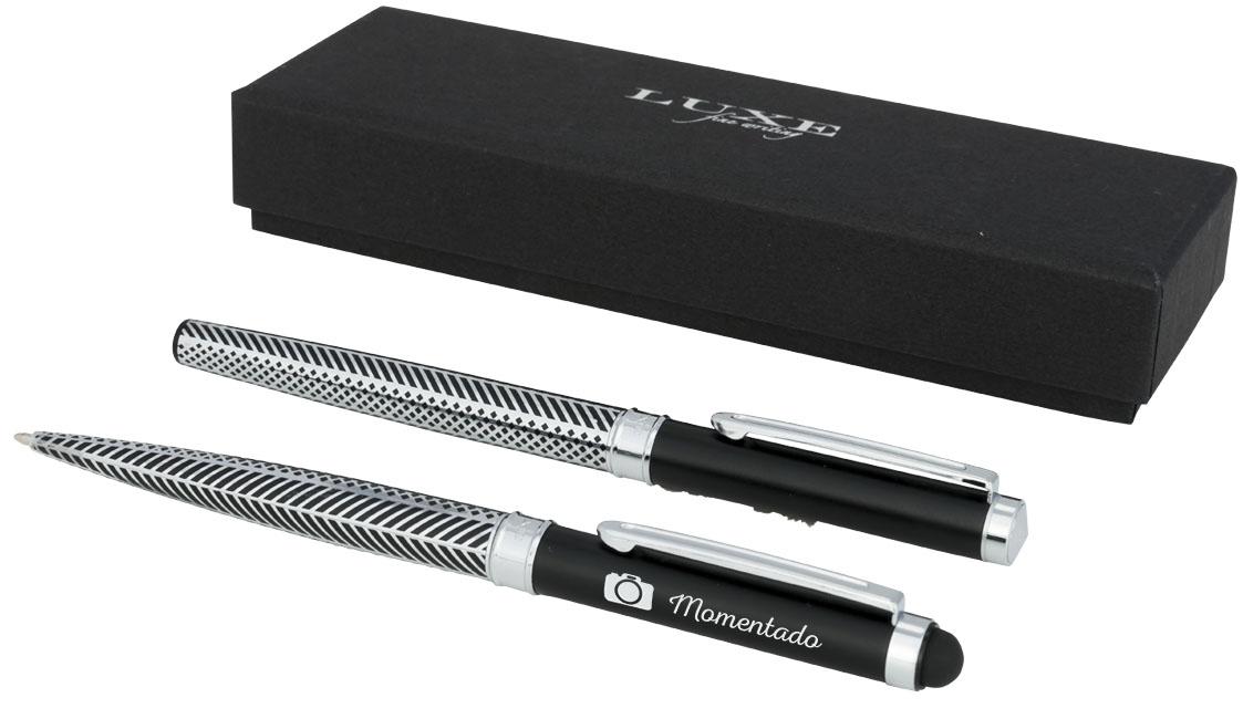 Conjunto de caneta com stylus e rollerball Empire