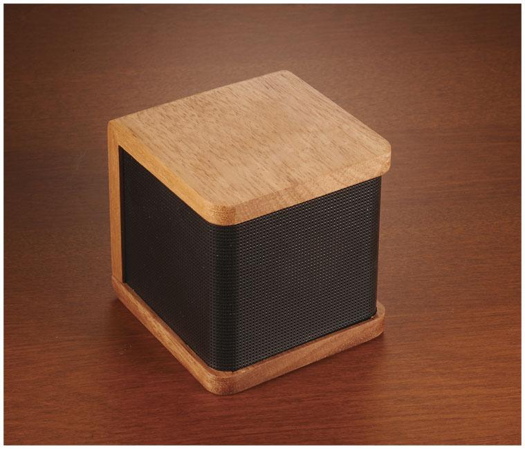 Coluna de madeira Bluetooth® Seneca