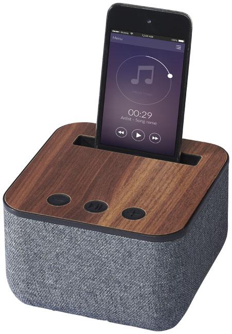 Altifalante de madeira e tecido Bluetooth® Shae