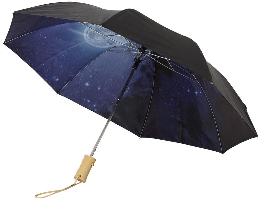 Guarda-chuva dobrável automático de 2 secções 21 Clear-night