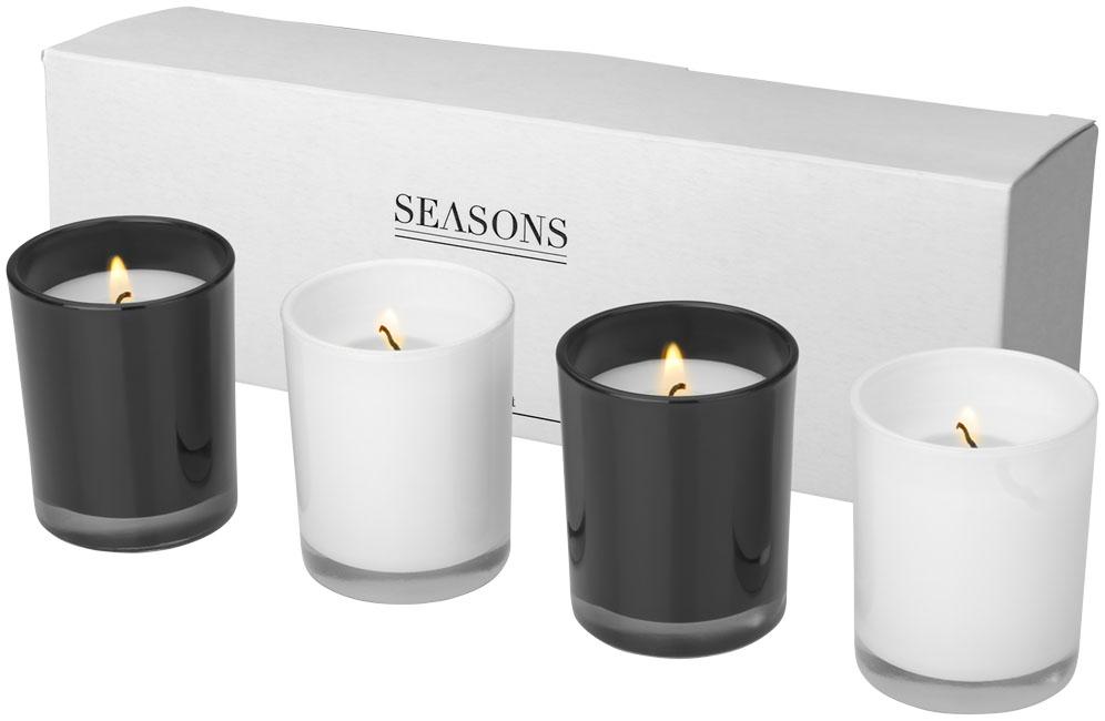 Conjunto de Decoração com 4 velas HIlls